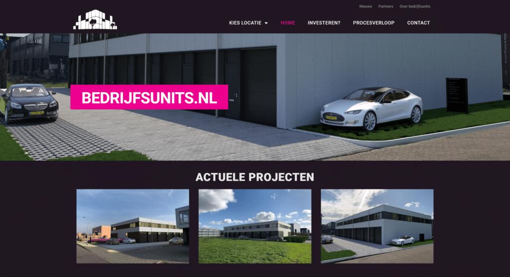 makelaar vastgoed website design
